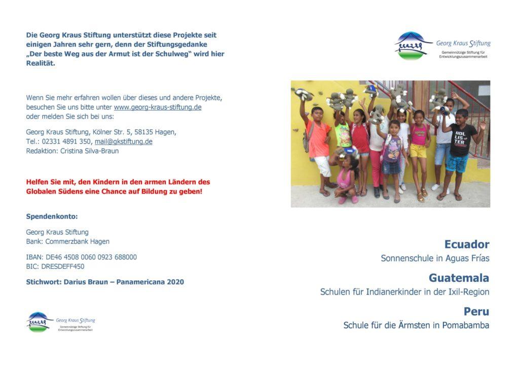 Soziale Projekte Georg Kraus Stiftung